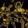 Construction bots - scrapped t short idea