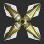 White Gold Shuriken