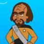 Comic -Worf on a Wharf