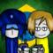 Madness Brazil Crystal Blue And Gabriel Barsch