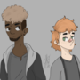 two new characters for something i'm working on