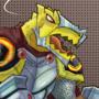 Dragonborn cleric by Dinodrake