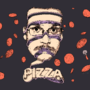 Sliced Pizza John by sylviaodhner