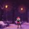 Alyssa in the snowy park