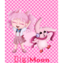 Chibiusa and Cutemon [Digimoon] by michrose