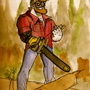cyborg lumberjack!