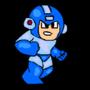 megaman runs by Dan-Dark