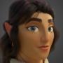 Alita 3d Portrait