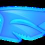 frosty shark logo twitch