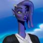 alien women 3d model