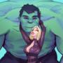 Black Widow & Hulk