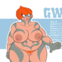 """Gwynn's Profile - """"I forgot my armor and most of my clothing at home"""" Edition"""