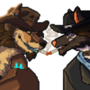 [Personal/Gift] Snake and Jacob Icon by VoidwalkerArt