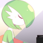 Gardevoir on the Piano