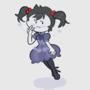 Marceline in a dress by Scaboomba