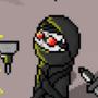 Madness Combat: Hank Pixel-art