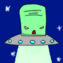 Evil Saucer Guy