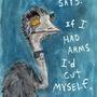 Emo Emu by RatsInTheWall