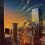 Cityscape by Kamikaye
