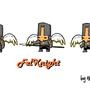Fel Knight by MercuryBD