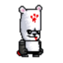 Bear from Castle Crashers