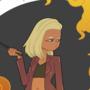 Fire Wizard by Lintle