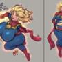 Doodles - Captain Marvel