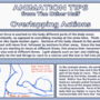 Tutorial: Animation Tips 2- Overlapping Actions
