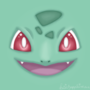 Bulbasaur's face