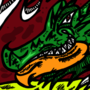 One bad croc