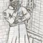 Lieutenant Aldros Hijenski by BlackMorningStudios
