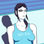 Wii Fit Trainer Pin-Up