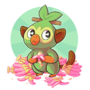 Grookey loves his nanabs