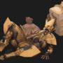 Fafnir in armor (commission)