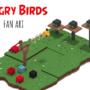 Angry Bird Fan Art | Voxel