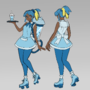 Sobble Cosplayer Sophie Concept Art!