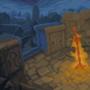 Dark Souls bonfire