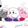 Kirby_Sketches of three good kirbs