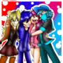 CrystalBlue,Dj Ninja Blue,LadyBlog,Moge-Ko Friends