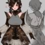 Andrea(DnD char) alt outfit