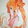 cute girl by Leaveniel