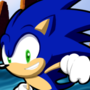 SA2 Sonic in Green Hill Zone