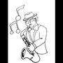 The Jazzman by JackBarnak
