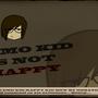 Emo kid is not happy! by Khan707