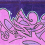 Purple Wildstyle Sticker by GOSTEONER