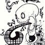 Laughing Skull by ZeroThief