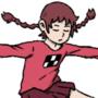Madotsuki skateboarding