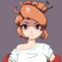 Pixel Anime Girl
