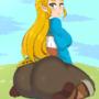 Princess Zelda butt