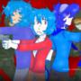CrystalBlue FelipeTheHedgehog And Sonicgamer VS Units USN